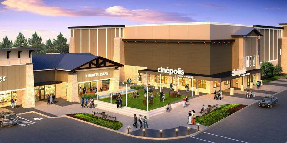 What was going to be a Moviehouse theater in the upcoming Creekside Park development will now be a Cinepolis. Photo: The Howard Hughes Corporation