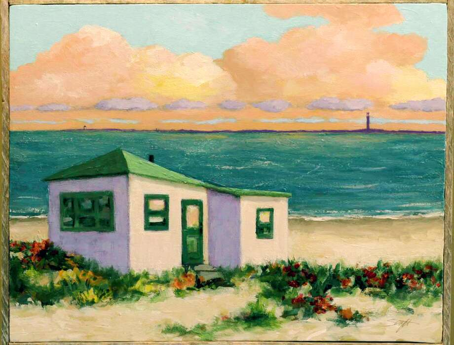 """The Gilded Lily Gallery hosts an opening reception, """"Coastal Vibes,"""" featuring the artwork of Milford resident Rick Senft on Oct. 5. Photo: Gilded Lily Gallery Photo."""