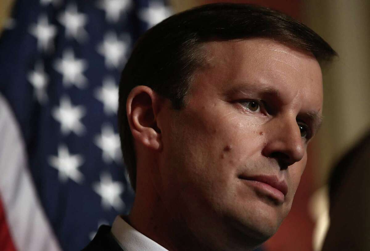U.S. Sen. Chris Murphy, D-Conn., spoke during a press conference on June 16, 2016 at the U.S. Capitol in Washington, DC. (Win McNamee/Getty Images/TNS)