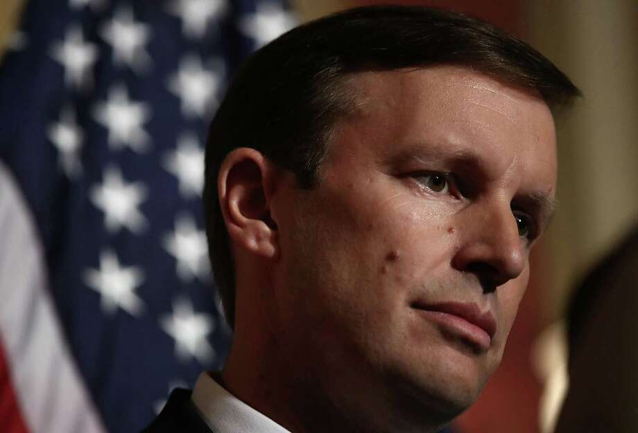 U.S. Sen. Chris Murphy, D-Conn., spoke during a press conference on June 16, 2016 at the U.S. Capitol in Washington, DC. (Win McNamee/Getty Images/TNS) Photo: Win McNamee / TNS / Getty Images North America