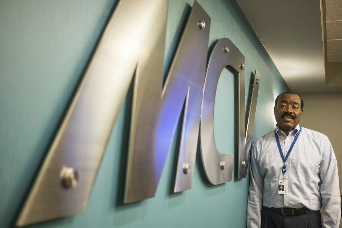 Midland Cogeneration Venture President and CEO Doyle N. Beneby Jr. poses for a portrait at the facility in Midland Tuesday, Sept. 10, 2019. (Katy Kildee/kkildee@mdn.net)