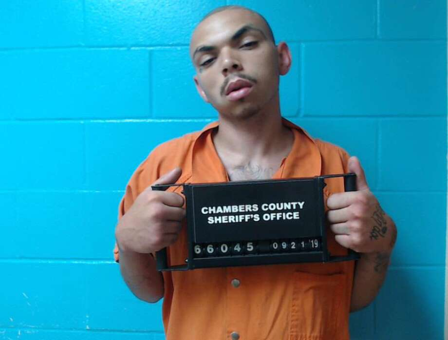 Jorden Tyler Meadows was arrested and has been charged with aggravated robbery, aggravated kidnapping and burglary of a vehicle. Photo: Chambers County Sheriff's Office
