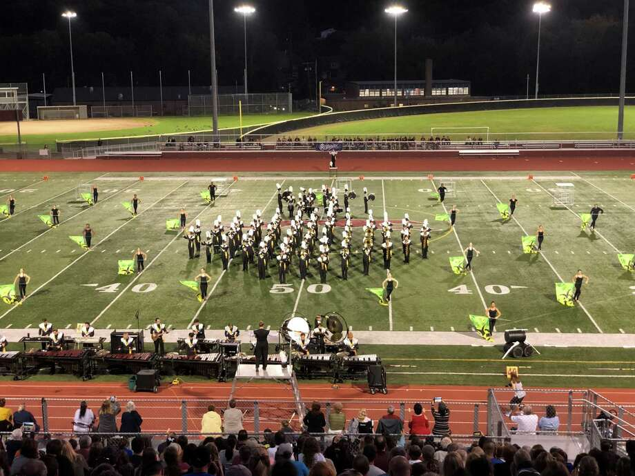 The Trumbull High School Golden Eagle Marching Band will present the 2019 Fall Classic on Saturday, Sept. 28. Photo: Contributed Photo