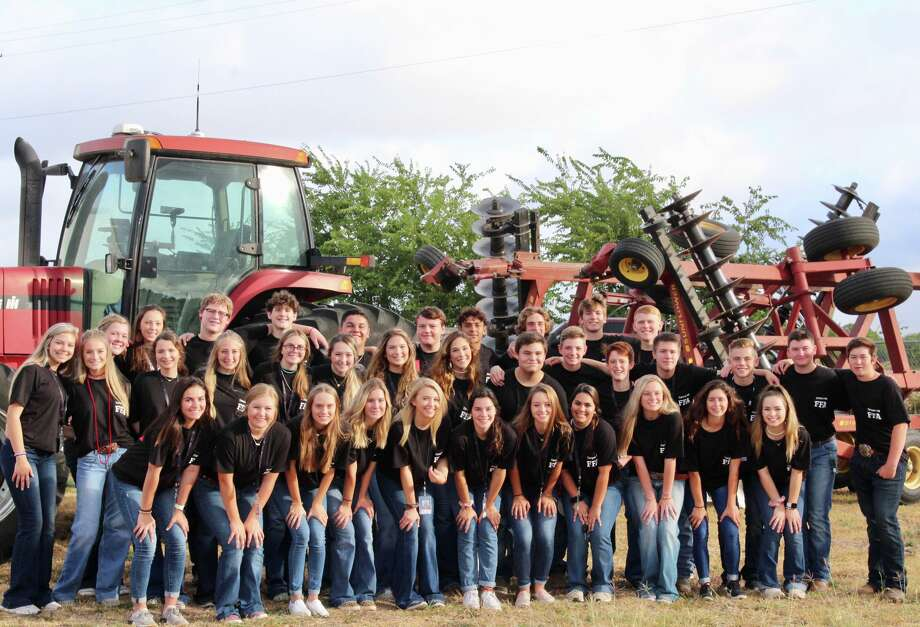 Members of the Canyon New Braunfels High School FFA Team Photo: Canyon New New Braunfels FFA