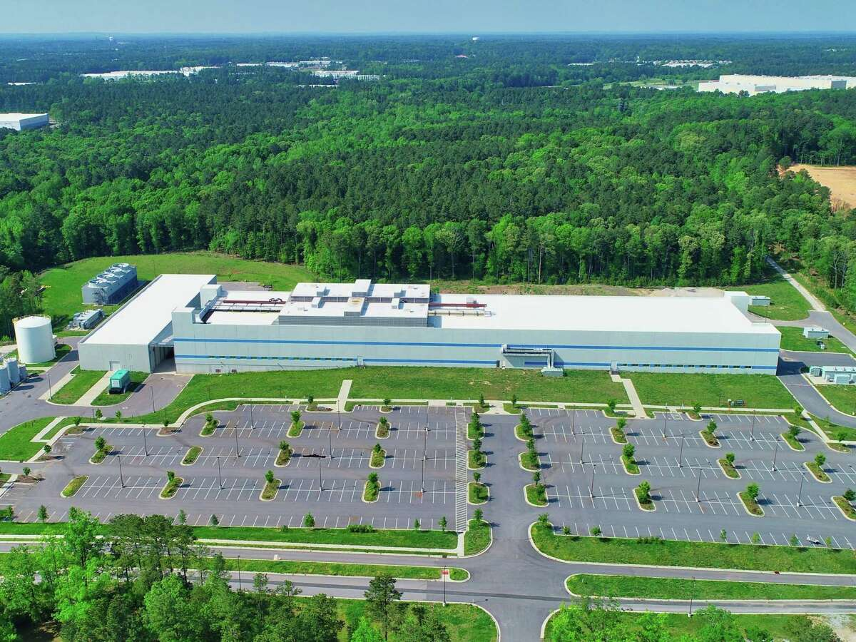 Cree had originally planned to build its new North Fab in Durham, N.C. (rendering pictured) as part of a $1 billion expansion plan announced in May. Now the North Fab will be built outside Utica and will be larger than the original facility was envisioned.