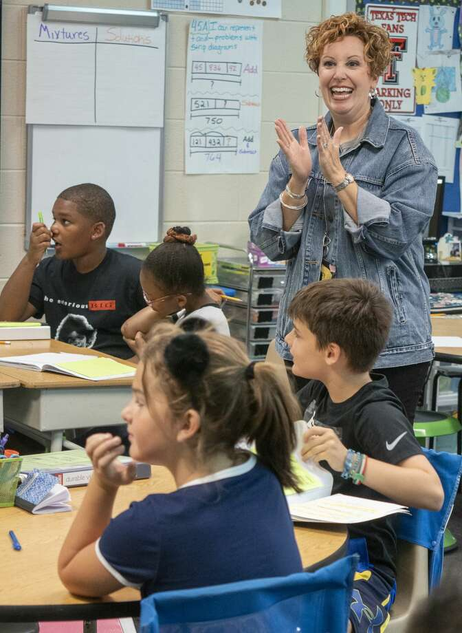 Shana Vourazeris, fourth grade teacher at Santa Rita Elementary.  09/23/19  Tim Fischer/Reporter-Telegram Photo: Tim Fischer/Midland Reporter-Telegram