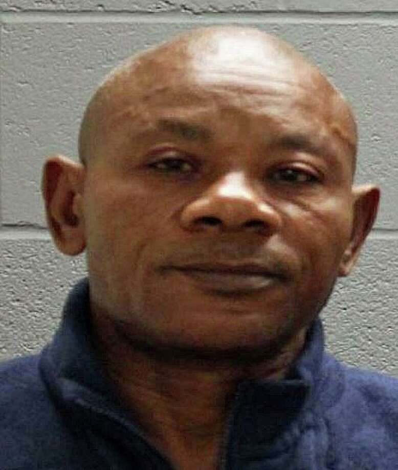 """Jean Marcelin Francois, 61, of Sunnyside Avenue in Watertown was arrested on Saturday, Sept. 21, 2019 and charged with was charged with disorderly conduct and cruelty to animals. Residents who also live in the house confronted Francois after a dog Francois didn't like was found injured. """"A short time after the confrontation, the complainants reported that Francois approached them with a hatchet in his waistband at which time an argument ensued and Francois pulled the unsheathed hatchet from his waistband and postured in a threatening manner while wielding the hatchet,"""" police said. Photo: Watertown Police Photo"""