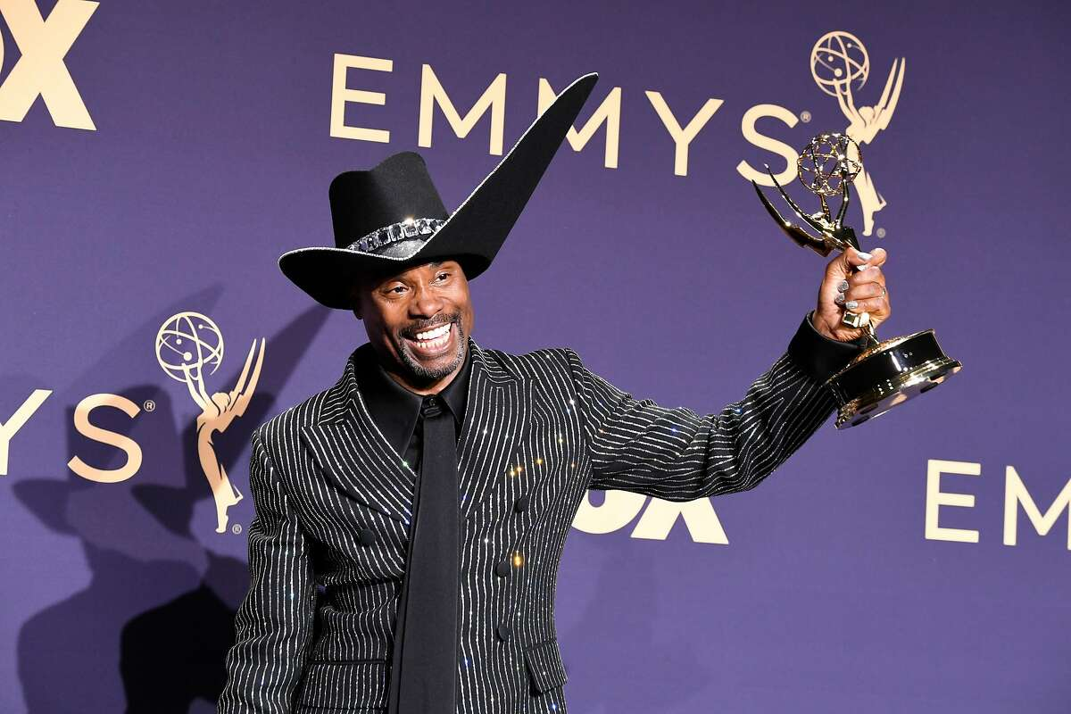 LOS ANGELES, CALIFORNIA - SEPTEMBER 22: Billy Porter poses with award for Outstanding Lead Actor in a Drama Series in the press room during the 71st Emmy Awards at Microsoft Theater on September 22, 2019 in Los Angeles, California. (Photo by Frazer Harrison/Getty Images)