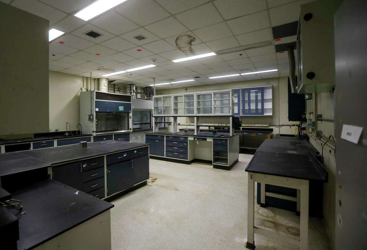 An unused laboratory in Lunar Receiving Laboratory at Johnson Space Center, photographed on Monday, Sept. 16, 2019, in Houston. The building has not been used for two years, and it is scheduled for demolition.