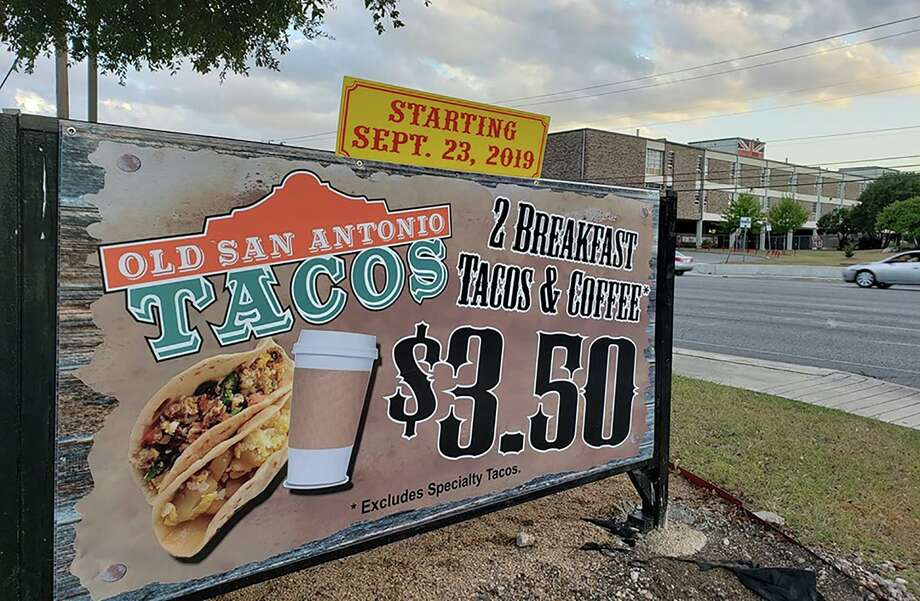 Old San Antonio Tacos made its San Antonio debut on Monday inside the space of Papa's Quickdraw BBQ at 12054 Blanco Road. Photo: Old San Antonio Tacos
