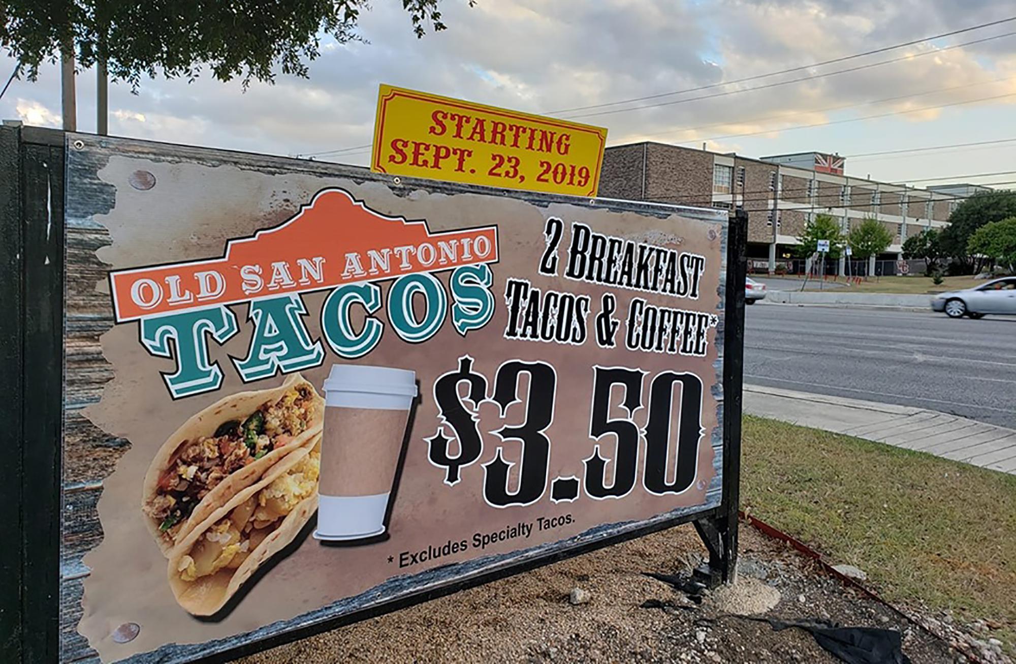 Quickdraw BBQ adds breakfast tacos by San Antonio's Churchill High School