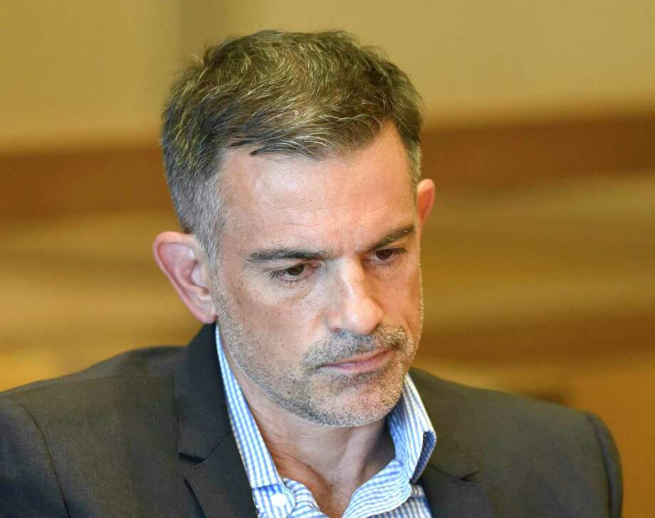 Fotis Dulos appears at the Connecticut Superior Court in Stamford, Conn. Monday, Sept. 23, 2019. Photo: Tyler Sizemore / Hearst Connecticut Media / Greenwich Time