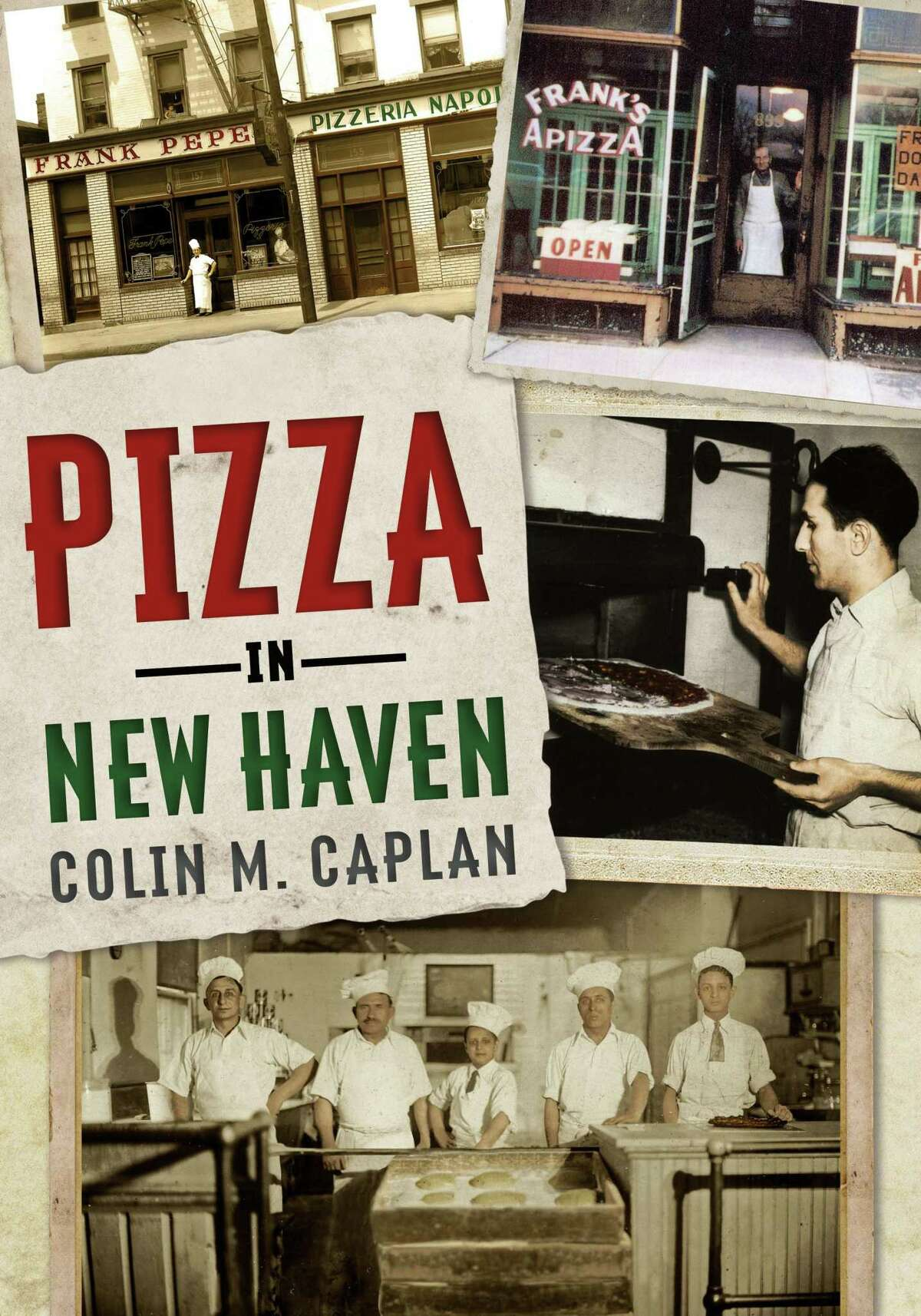 Friends of Milford Library will host speaker, Colin M. Caplan, who will discuss his latest book Pizza in New Haven on Tuesday, Oct. 1.
