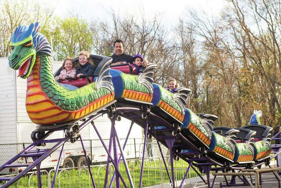 The Miller-Driscoll Carnival comes to town this weekend. Photo: Bryan Haeffele / Hearst Connecticut Media / Hearst Connecticut Media