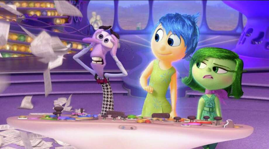 """Inside Out"" will be screened at Levy Park on Friday. Photo: Handout, HO / McClatchy-Tribune News Service / TNS"