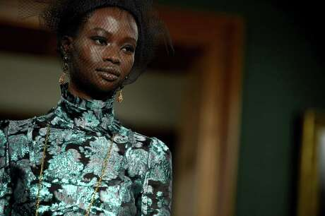 The Erdem runway featured Victorian prints and styles.