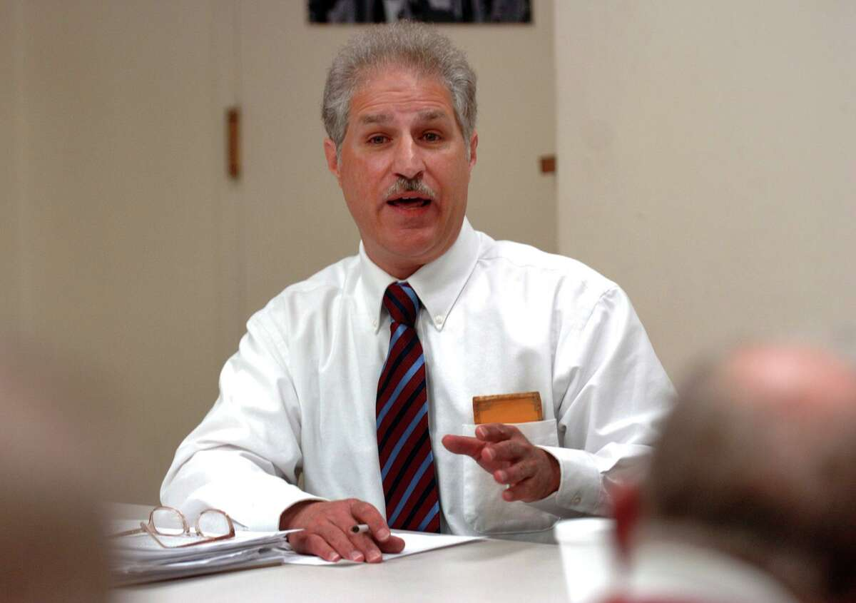 The Greater Bridgeport Fairfield County Property Owners Association held a mayoral candidate debate the Burroughs Comminuty Center in Bridgeport, Conn. on Wednesday October 26, 2011. Independent candidate Jeff Kohut.