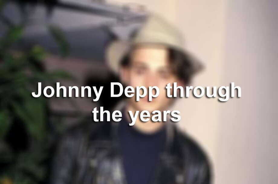 Johnny Depp through the years. Photo: Ron Galella