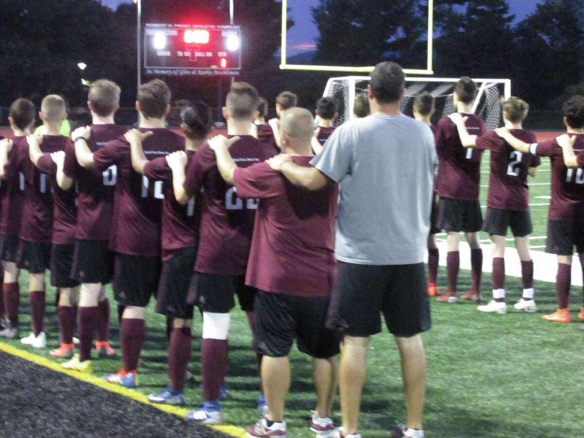 Torrington coach Mike Fritch promises both teams will learn from the early-season battle between the Red Raiders and Greyhounds in Naugatuck's one-goal victory Monday night at the Robert H. Frost Sports Complex.