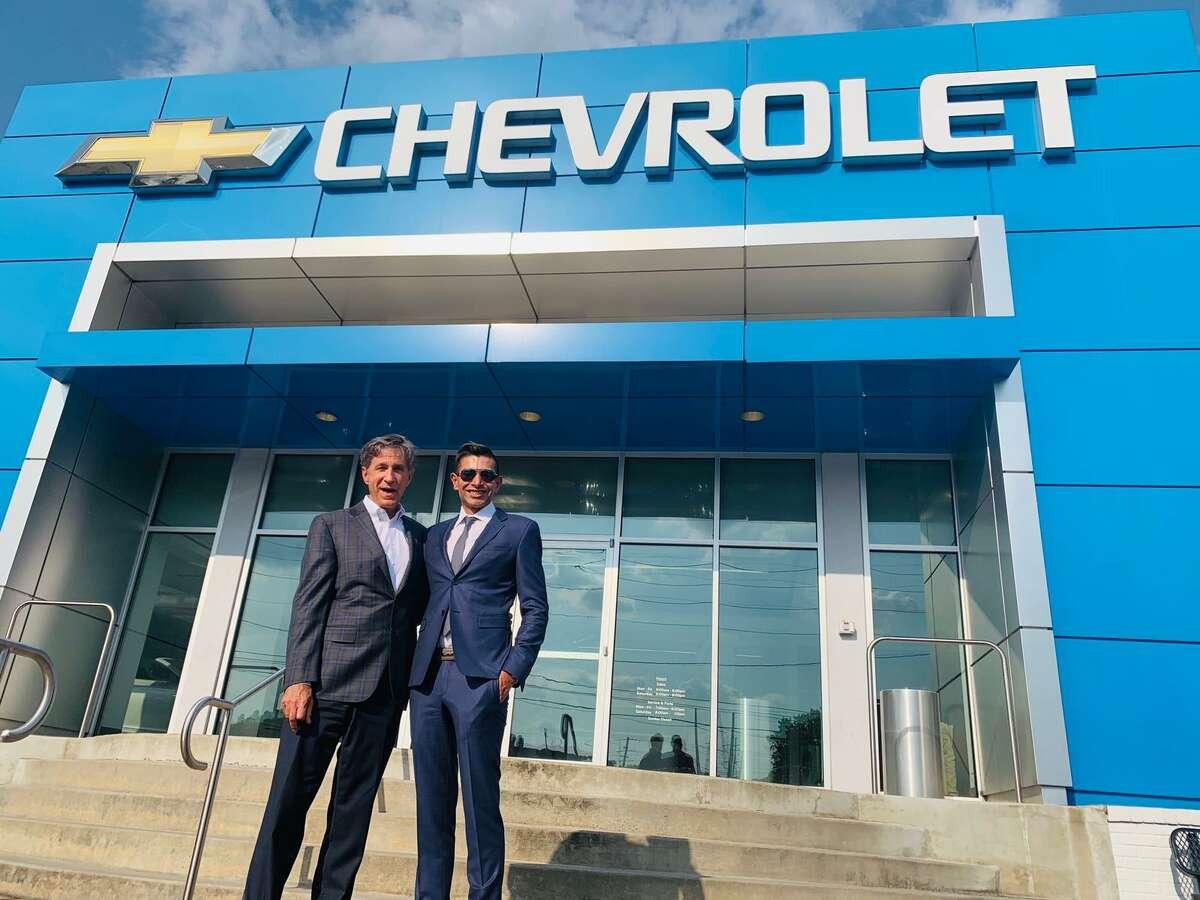 Steve Rayman and Taseer Badar at Steve Rayman Chevrolet in Atlanta.