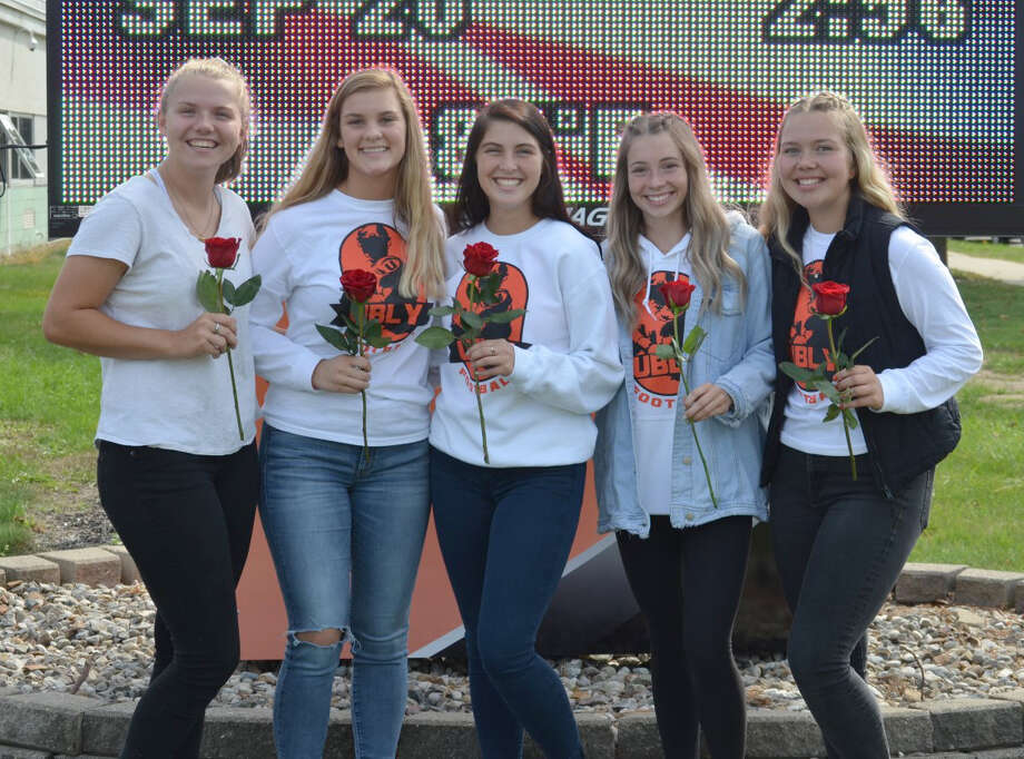 Ubly High School's 2019 Homecoming Court is, from left, Ellie Peruski, Claire Melnik, Sierra Walker, Grace Conley, and Danielle Tschirhart. Photo: Submitted Photo