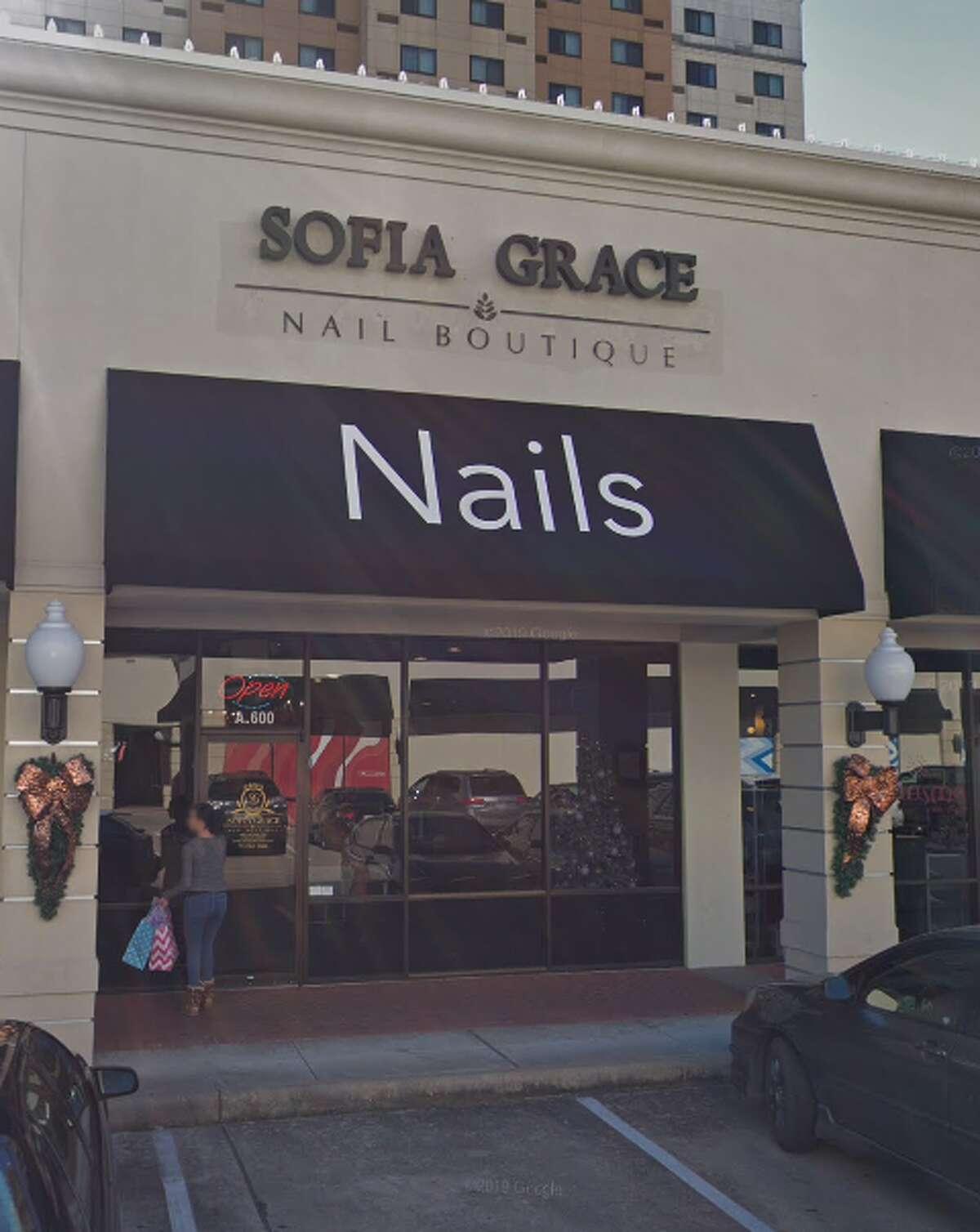 14. Sofia Grace Nail Boutique Address: 2800 Sage Road