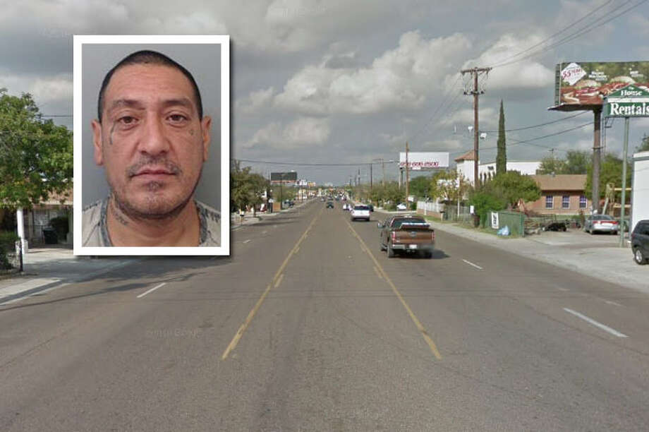 A man landed behind bars following a domestic disturbance, according to Laredo police. Photo: Courtesy