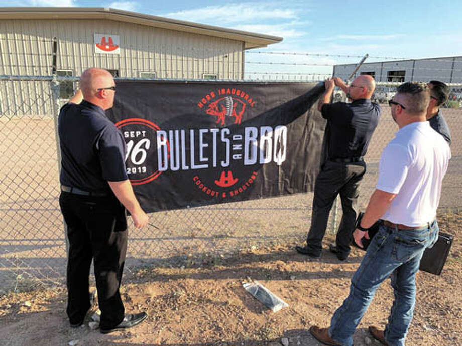 Celebrating their new Permian Basin location by hosting a Bullets and  Barbecue event on September 16, HOSS Pump Systems shared a great time  with current and new customers. Photo: Courtesy