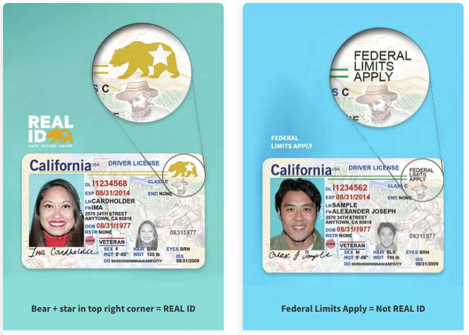 Drivers now have the option for a Real ID, or not. Fliers need the Real ID Photo: CA DMV