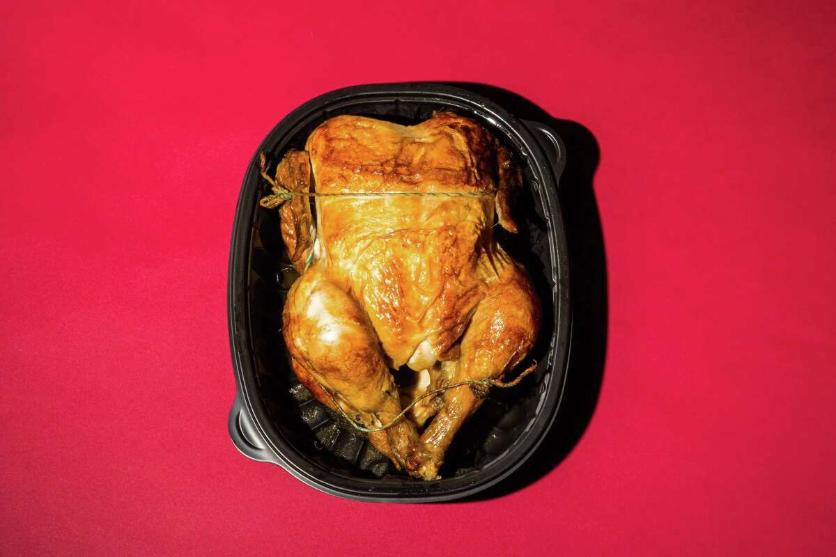 Who doesn't love a grocery store rotisserie chicken?