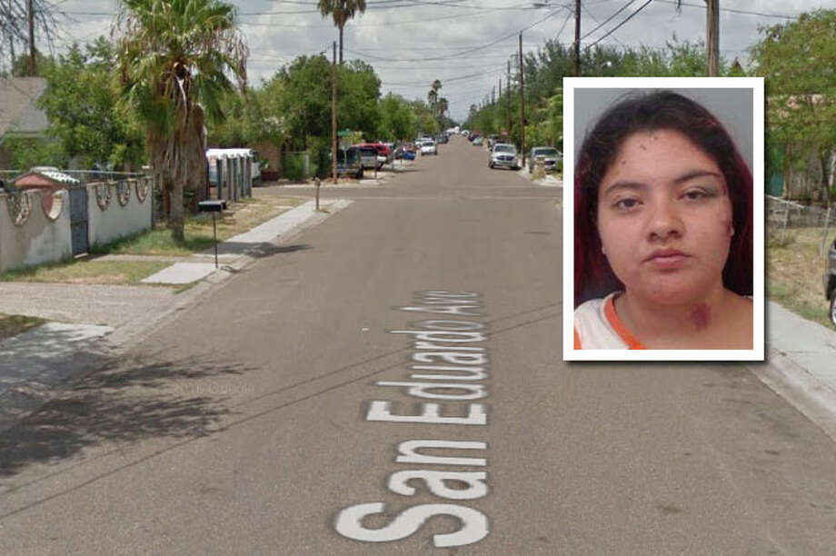 A woman was arrested for trespassing into a home and causing a disturbance, according to Laredo police. Photo: Courtesy