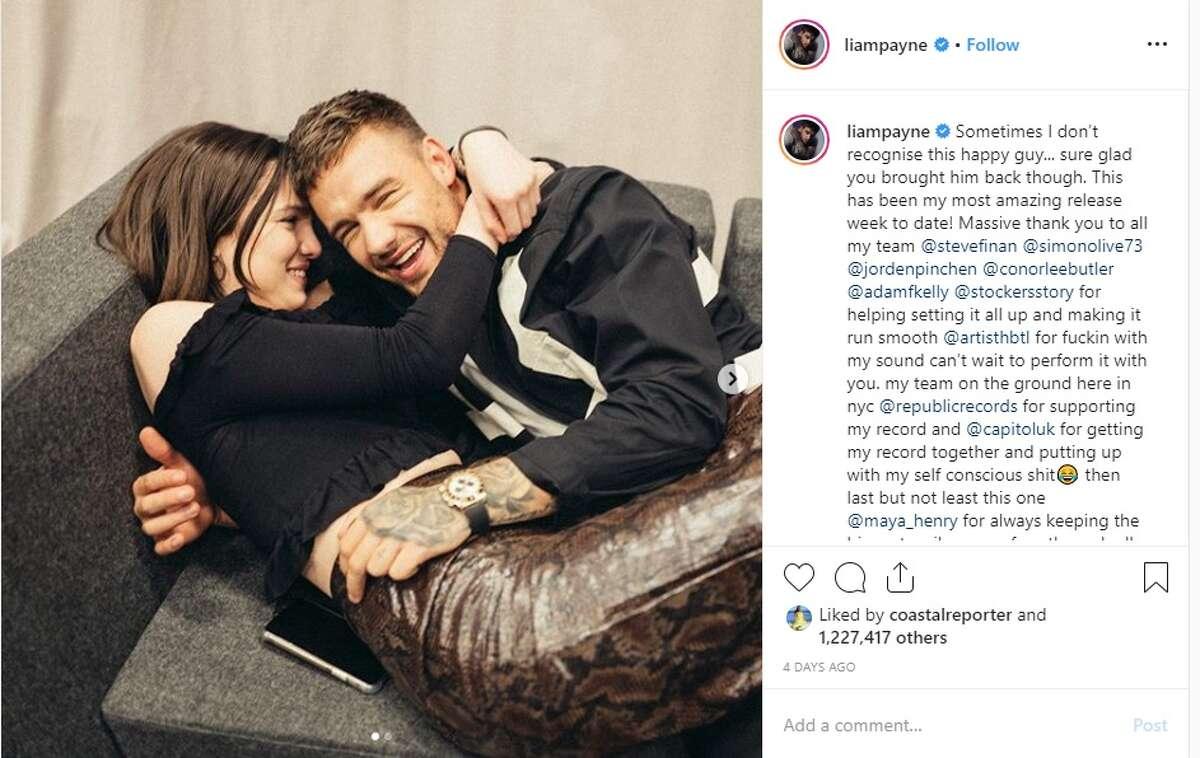 Liam Payne confirmed on Instagram last week that he is dating San Antonio's Maya Henry.