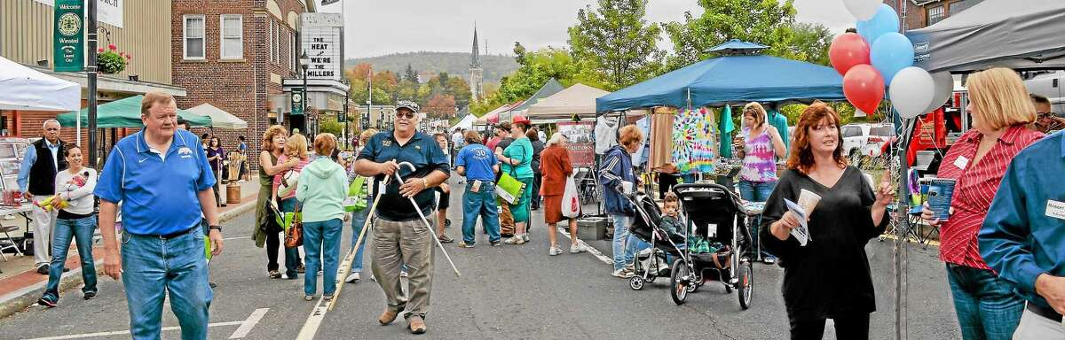 Winsted's annual Fall Festival, hosted by the Friends of Main Street, will be held Sept. 28, 2019.