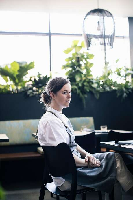 Meghan Clark, chef de cuisine at Nari in S.F. Photo: Stephen Lam / Special To The Chronicle