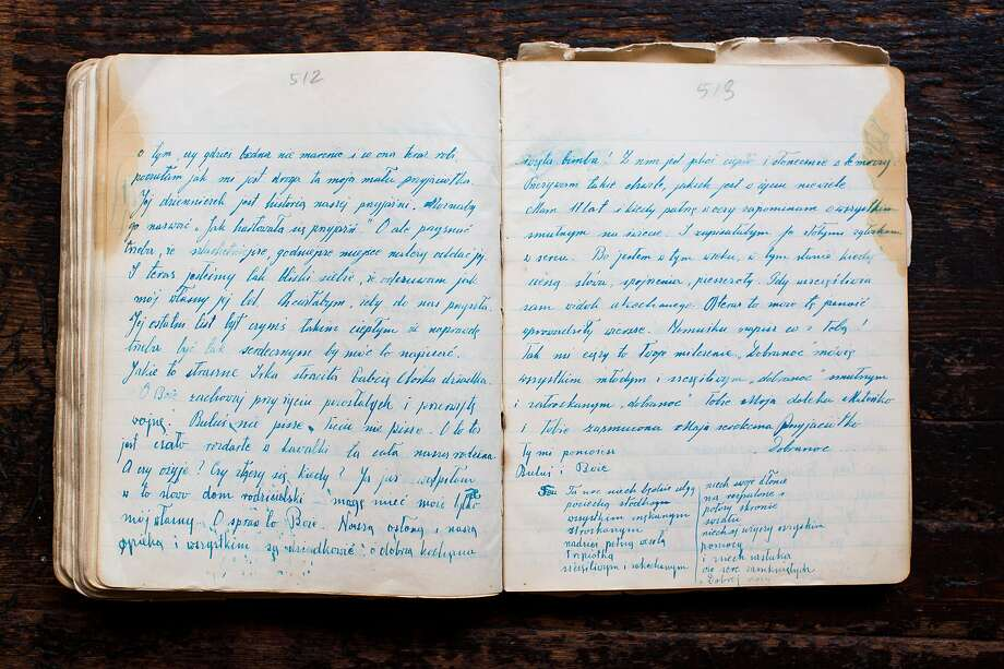 The diary of Renia Spiegel, a Jewish Polish girl, is described as a counterpoint to Anne Frank's diary. Photo: Brian Harkin / New York Times 2016