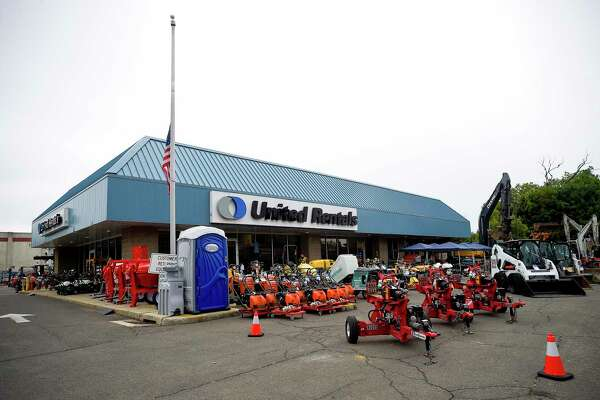 United Rentals operates an equipment depot at 224 Selleck St., in Stamford, Conn.