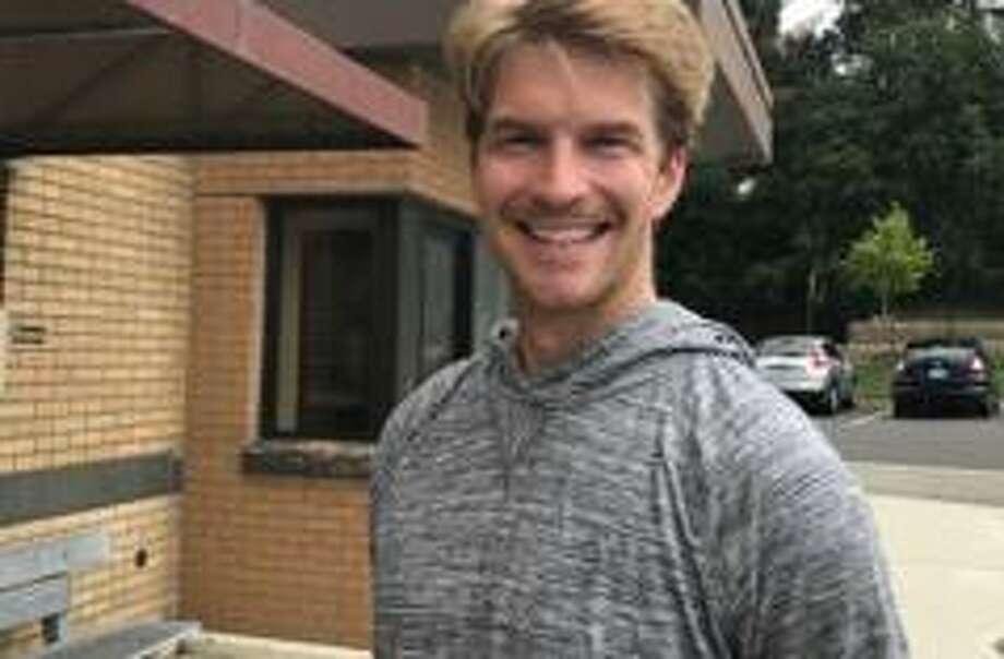 Ridgefield resident Andy Jackson will run in this year's New York City Marathon. Photo: Contributed Photo