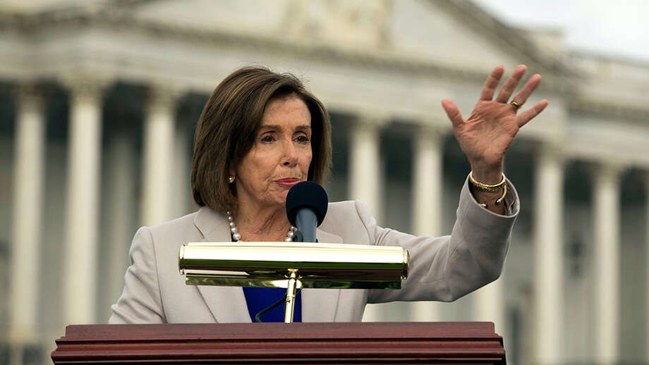 Speaker of the House Nancy Pelosi, D-Calif. Photo: Jose Luis Magana/AP/Shutterstock / Copyright (c) 2019 Shutterstock. No use without permission.