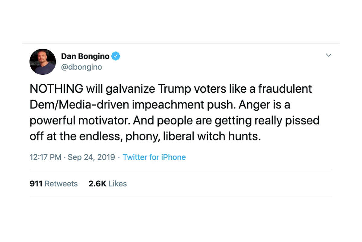 Politicians, pundits and other Twitter users react to reports of a formal impeachment inquiry.