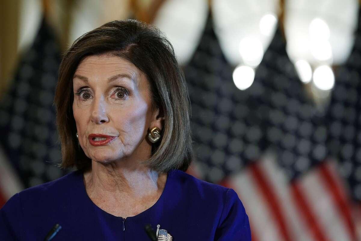 U.S. House Speaker Nancy Pelosi (D-CA) speaks to the media at the Capitol Building September 24, 2019 in Washington, DC.