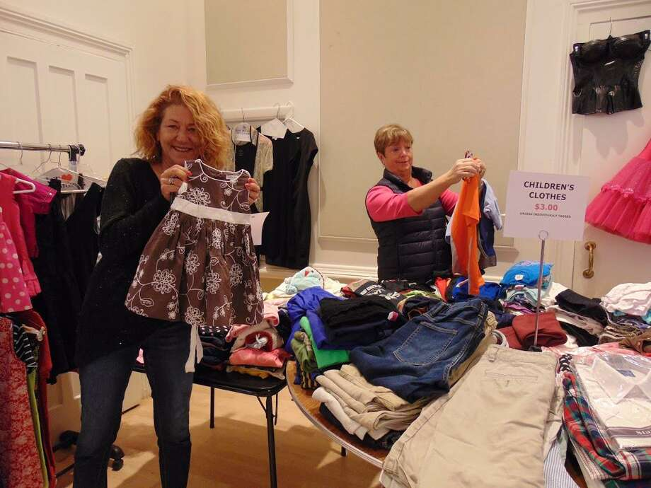 The Westport Woman's Club's annual Clothing Tag Sale takes place October 25-27. Photo: Westport Woman's Club / Contributed Photo / Copyright 2009