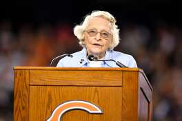 Chicago Bears: Virginia Halas McCaskey - Year acquired: 1983 At age 96, Virginia Halas McCaskey is the oldest NFL owner. She inherited the Chicago Bears in 1983 after the death of her father, George Halas Sr., who was also a professional football player and later a head coach. Her net worth is estimated at $2.4 billion today, and with the passing of the Cardinals' Bidwill, she is the longest-tenured owner in the NFL. This slideshow was first published on theStacker.com