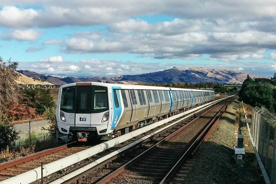 Slowly, BART is adding more of its Fleet of the Future cars to service. On Monday, Sept. 23, five new cars began running. Photo: BART