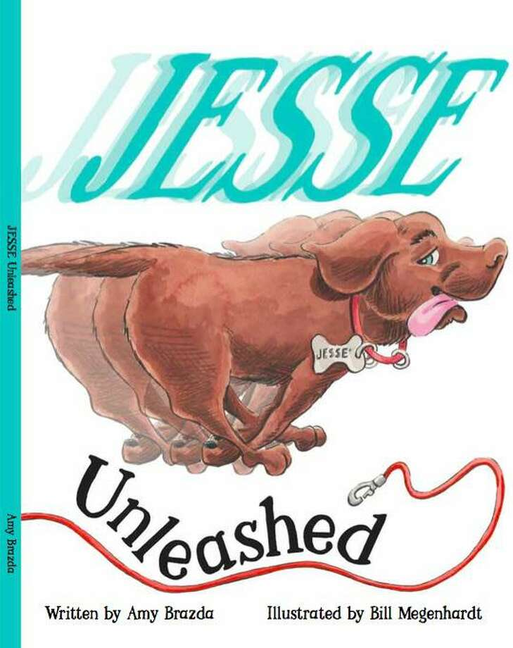 """Written by Houston author Amy Brazda, """"Jesse Unleashed"""" tells the story of a young pup that leaves the country to live in Houston and learns some new things along the way. Photo: Courtesy Photo"""