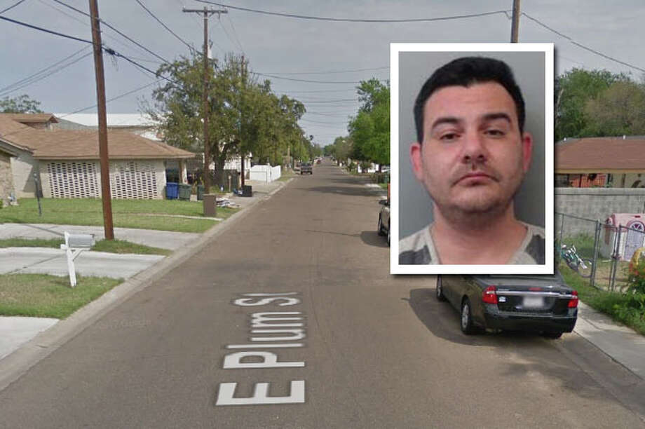 A man landed behind bars for slamming his wife's head against a brick wall and a steel door, according to Laredo police. Photo: Courtesy