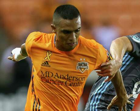 Mauro Manotas came up big for the Dynamo on Saturday, assisting on the decisive goal in a 2-1 victory over Orlando City.