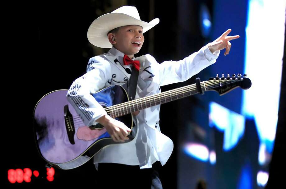 Skyrocketing to fame with an oversized voice, a huge love of classic Country and enormous personality to match, 11-year-old Mason Ramsey, performing Sept. 28 at the Big E, is the biggest little star in country music today. Photo: Contributed Photo / Big E
