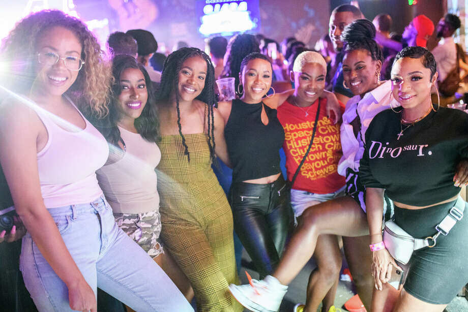 Fans at the House of Blues in Downtown Houston for Ciara's Beauty Marks Tour on Tuesday, September 24, 2019 Photo: Jamaal Ellis, For The Houston Chronicle / 2019 Houston Chronicle