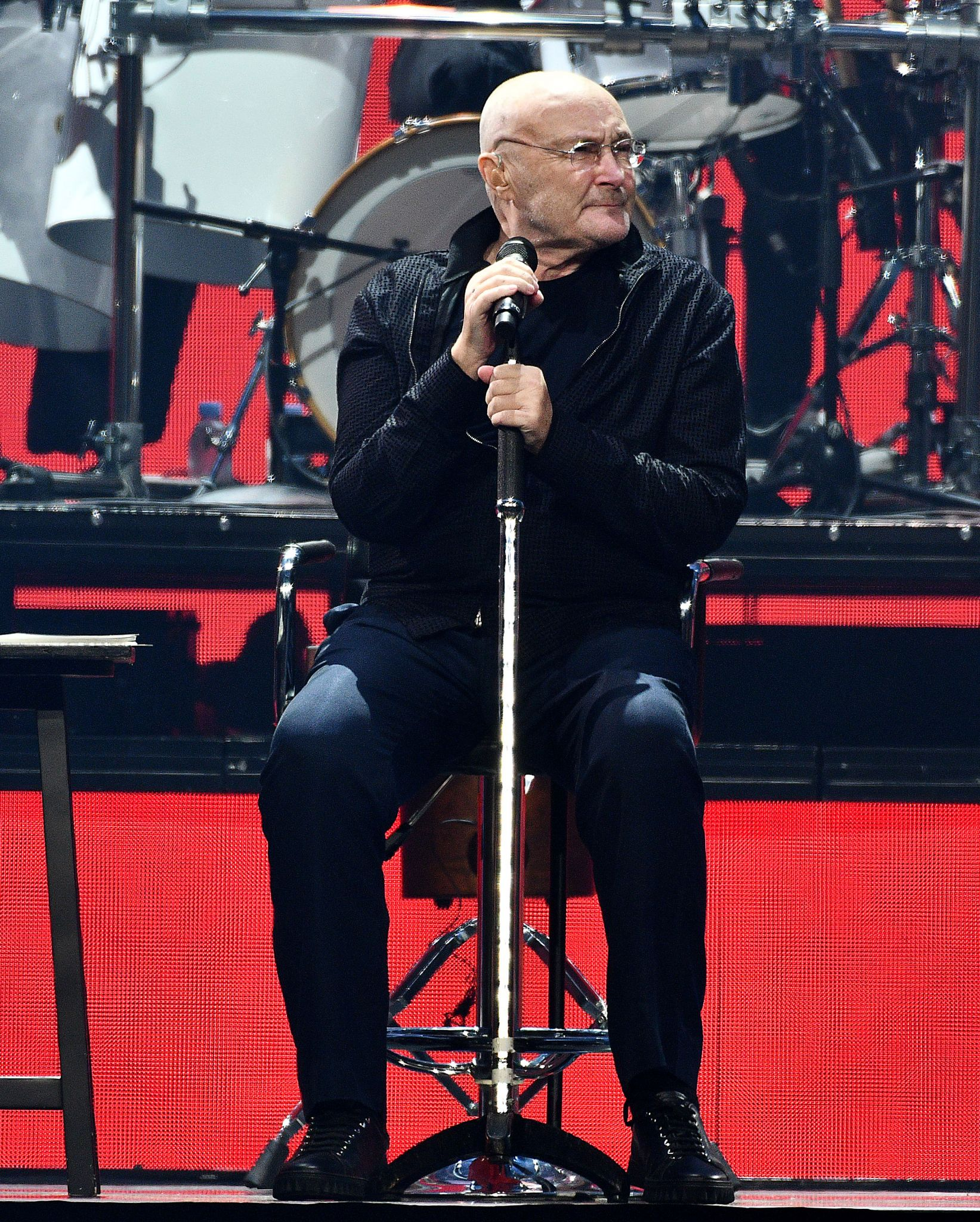 Phil Collins: not dead, yet, at Toyota Center