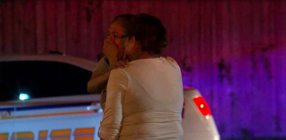 A husband and wife were shot to death Wednesday morning outside their home in the Fallbrook area, just as they returned from a hospital where the woman's mother had died, authorities said. Photo: OnScene.TV